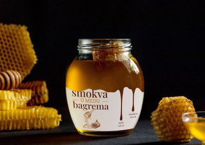 Fig honey label