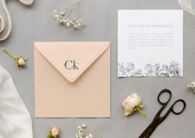 Cvjetne kombinacije pozivnica