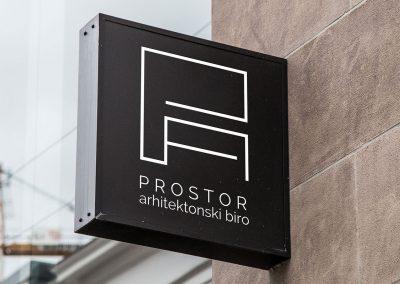 Prostor architectural office logo